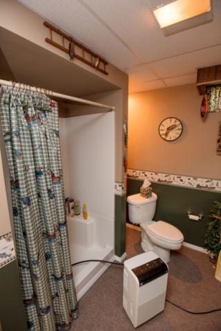 Lower Level Bathroom- 3996 Four Seasons, Gladwin
