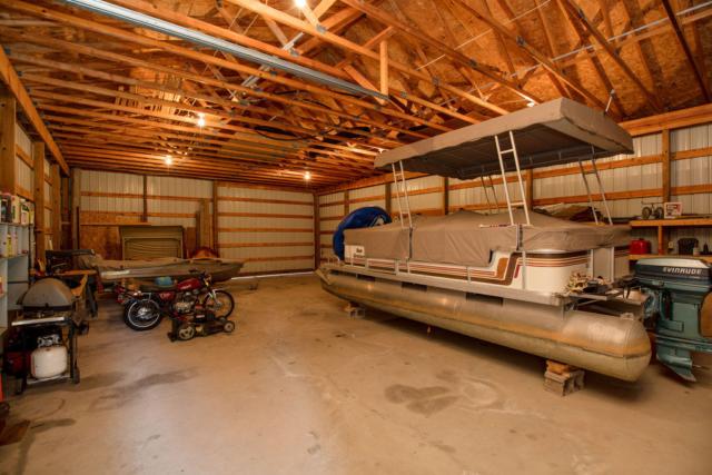 Pole Barn Interior- 3996 Four Seasons, Gladwin