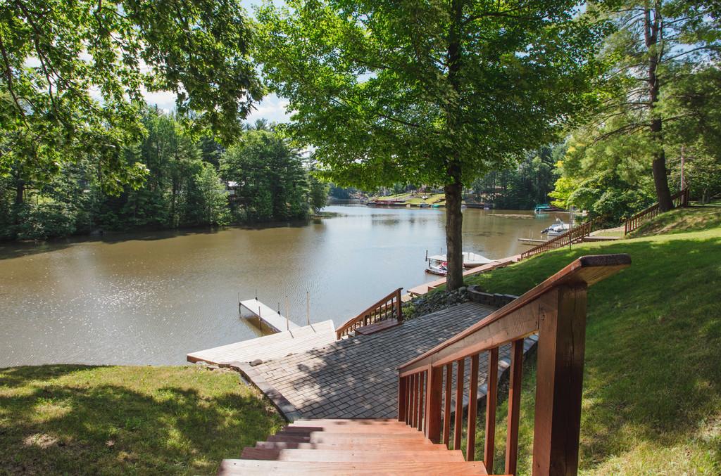 Walkway down to the Lake- 3996 Four Seasons, Gladwin