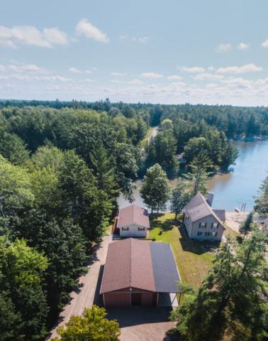 Overview of the Property- 3996 Four Seasons, Gladwin