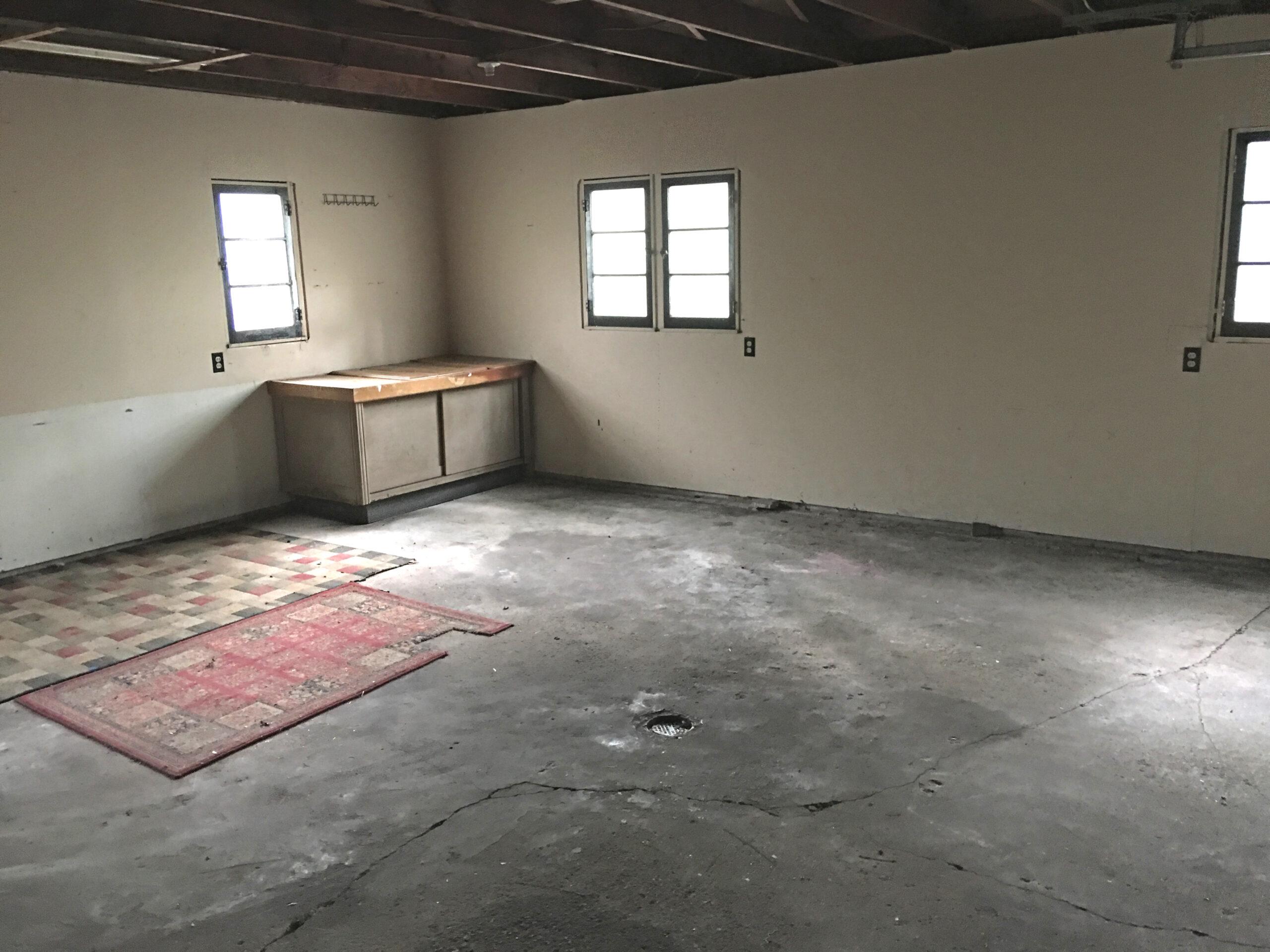 Garage Interior- 3122 Lawndale Drive, Midland