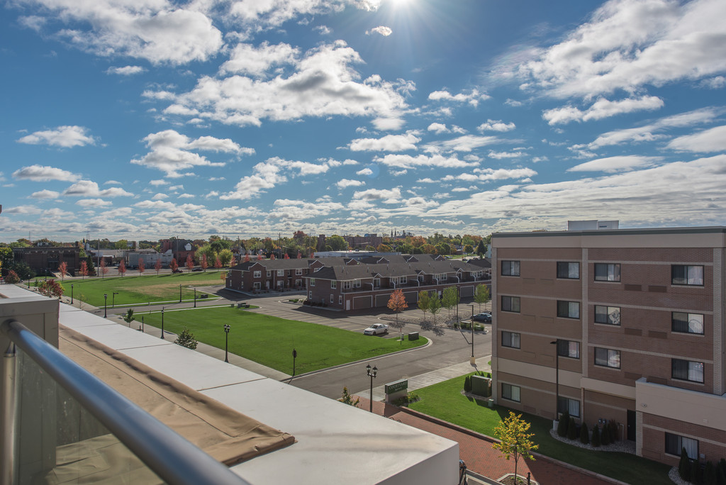 View from Terrace- 9 E Main #401