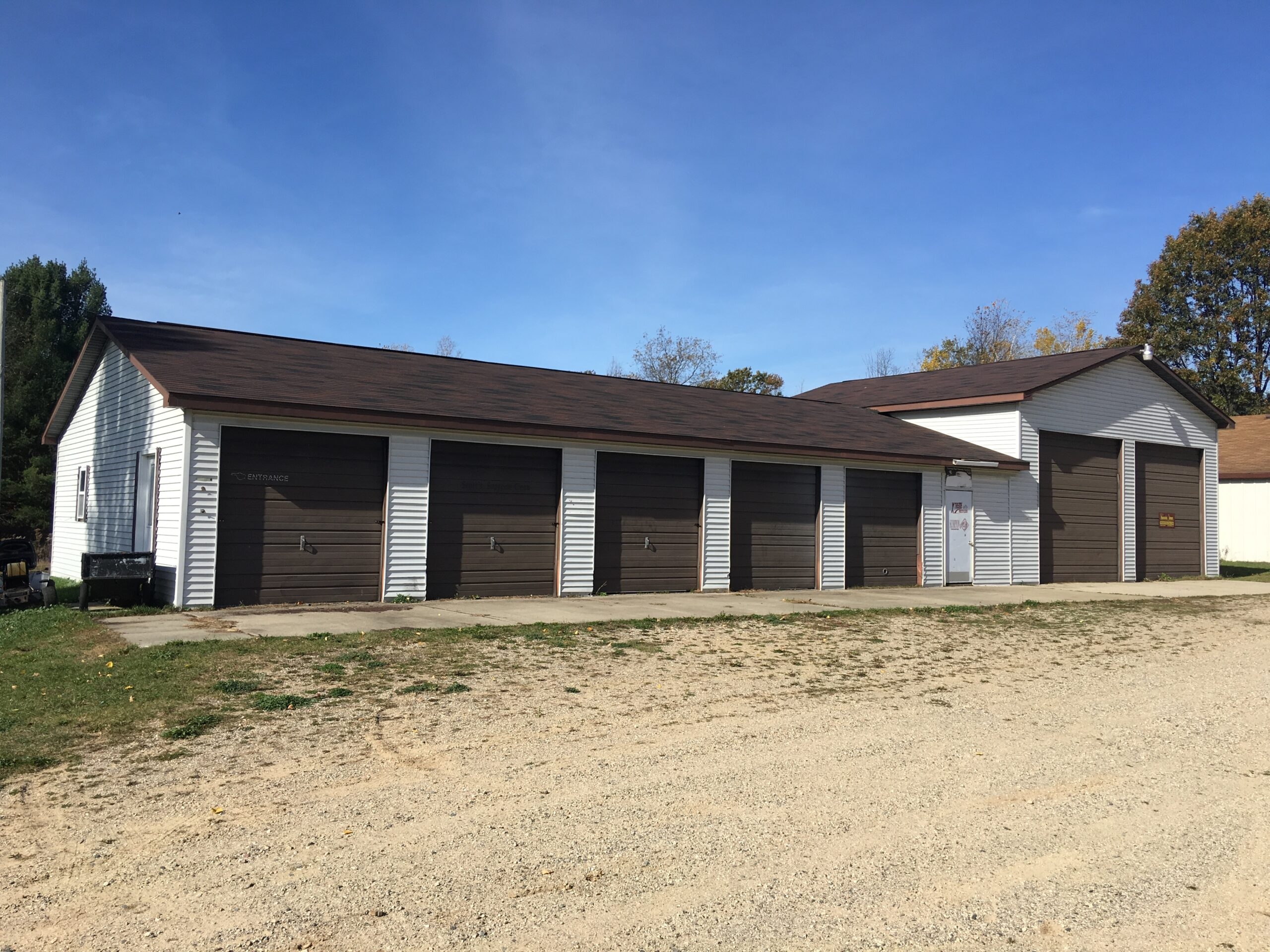 Front View- 4930 East Townline Lake Road