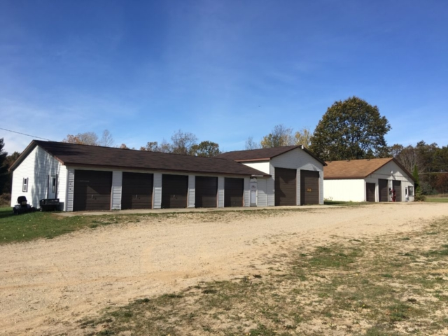 Front View of Buildings- 4930 East Townline Lake Road
