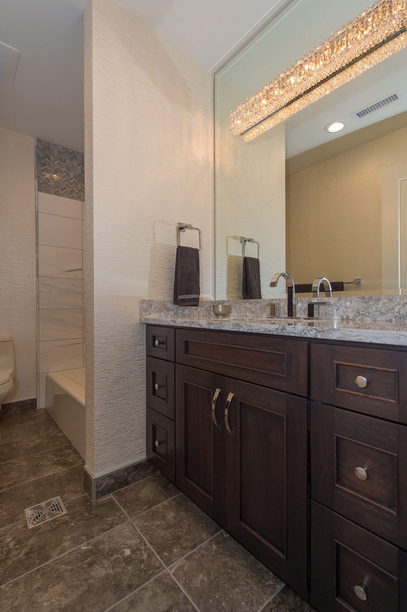 Guest Bathroom- 9 E Main #404
